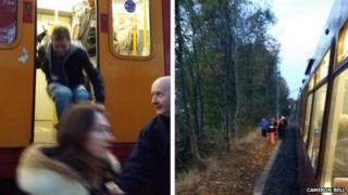 Metro evacuation