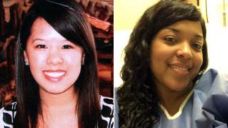 Nina Pham and Amber Vinson
