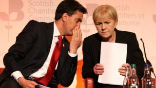 Ed Miliband and Johann Lamont