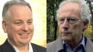 Jack McConnell and Henry McLeish