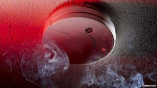 Smoke alarm. Pic: Thinkstock