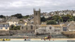 St Ives, Cornwall. Pic: Thinkstock