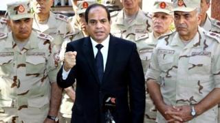 Egyptian President Abdul Fattah al-Sisi, responding to attacks in Sinai, 25 October 2014