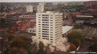 Cornwall Tower demolition