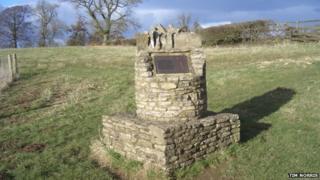 Battle of Stow memorial