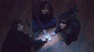 Douglas Smith, Olivia Cooke and Ana Coto in Ouija