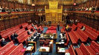 The Chamber of the House of Lords