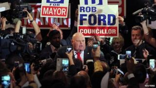 Rob Ford thanks supporters