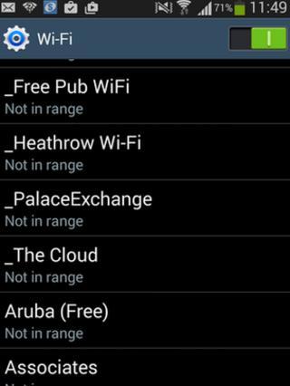 wi-fi list