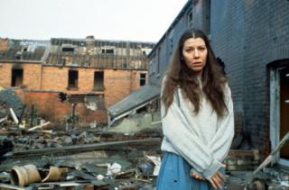 Karen Meagher as Ruth Beckett in the 1984 drama Threads