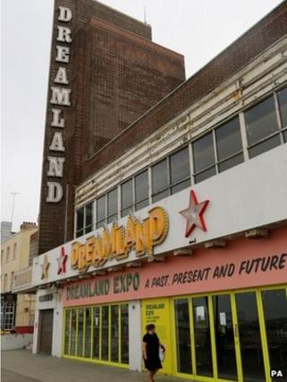 Dreamland cinema building