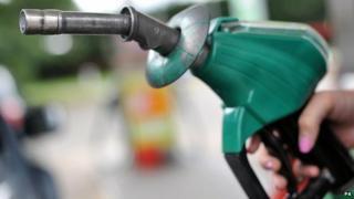 Petrol pump (file image)