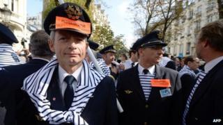 an Air France pilot