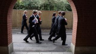 Eton school boys