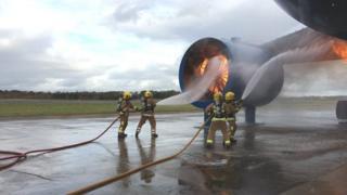Training plane Pic: Lisa Summers