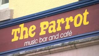 Arwydd y Parrot