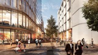 Cardiff city centre image