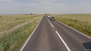 The A47 near Acle