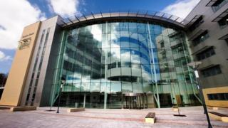 Caerphilly County Borough Council headquarters