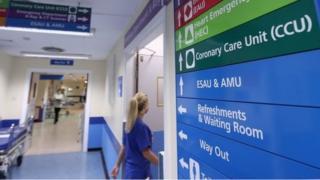 NHS signs