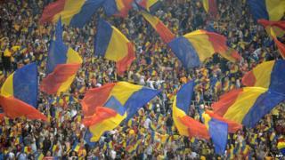 Romanian football fans