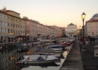 The centre of Trieste