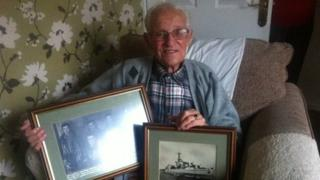 Navy veteran Tommy Jess, 91, from Lisburn