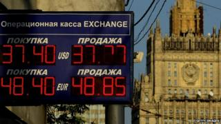 Moscow forex sign