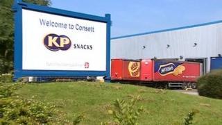 KP factory in Consett
