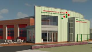 Aberystwyth fire station plans