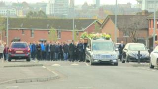 Funeral of Edward Gibson