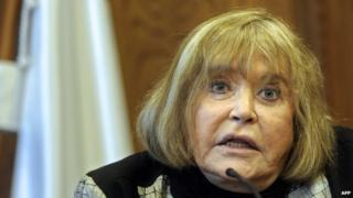 Argentine federal judge Maria Servini de Cubria May 2014