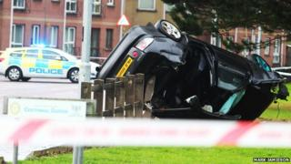The one-vehicle crash took place on the Strand Road, Coleraine, on 21 October