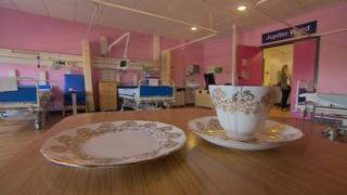 Dementia friendly ward at Swindon's Great Western Hospital