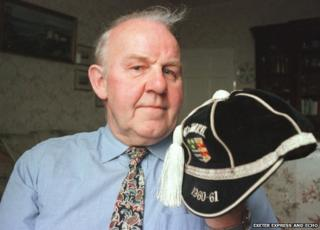 Geoff Edmondson. Pic: Exeter Express And Echo
