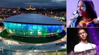 SSE Hydro, Nicki Minaj and Calvin Harris