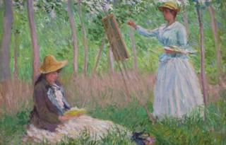 Monet's In the Woods at Giverny