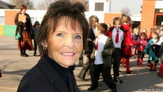 Dorothy Longley former head teacher at St Edmund Campion School