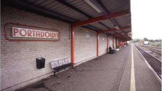 Portadown railway station