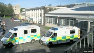 Glangwili Hospital, Carmarthen