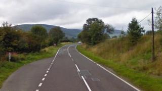 A44 between Llangurig and Aberystwyth