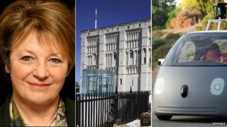 Delia Smith, Norwich Castle, a Google car