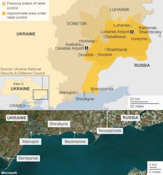 Ukraine orders troops to key cities