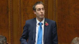 Paul Givan made the comments during a sitting of the assembly on Tuesday night