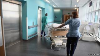generic NHS ward