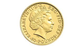 Britannia half ounce gold coin