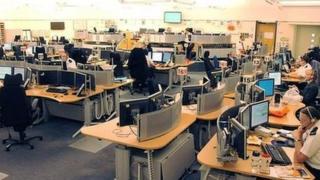 Leek Wootton control centre