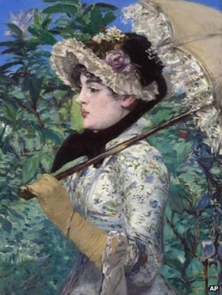 Le Printemps (Spring), Edouard Manet