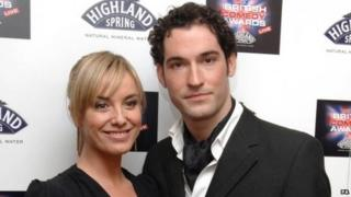 Tamzin Outhwaite and Tom Ellis