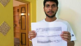 Sanjib Naskar, 27, who lost a total of $3,000 in two fraudulent schemes